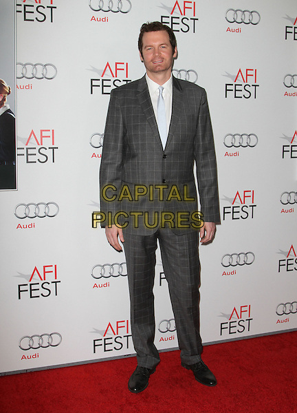 "Eric Matheny.AFI Fest 2011  Premiere Of ""Carnage"" Held At Grauman's Chinese Theatre, Hollywood, California, USA..November 5th, 2011.full length suit white shirt check grey gray .CAP/ADM/KB.©Kevan Brooks/AdMedia/Capital Pictures."