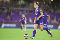 Orlando, FL - Saturday June 03, 2017: Steph Catley during a regular season National Women's Soccer League (NWSL) match between the Orlando Pride and the Boston Breakers at Orlando City Stadium.