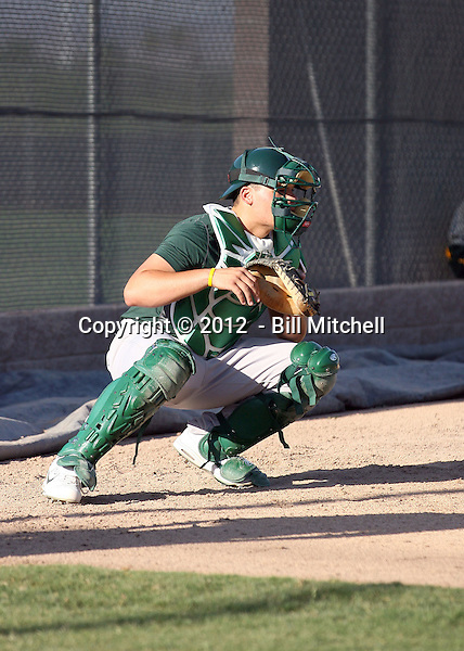 Bruce Maxwell - 2012 AZL Athletics (Bill Mitchell)