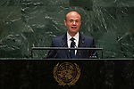 General Assembly Seventy-fourth session, 7th plenary meeting<br /> <br /> His Excellency Joseph Muscat, Prime Minister, Republic of Malta