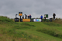 The 10th tee during the preview of the the 148th Open Championship, Portrush golf club, Portrush, Antrim, Northern Ireland. 17/07/2019.<br /> Picture Thos Caffrey / Golffile.ie<br /> <br /> All photo usage must carry mandatory copyright credit (© Golffile | Thos Caffrey)