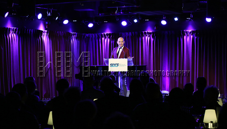 Taylor Mac on stage during the Second Annual SDCF Awards, A celebration of Excellence in Directing and Choreography, at the Green Room 42 on November 11, 2018 in New York City.