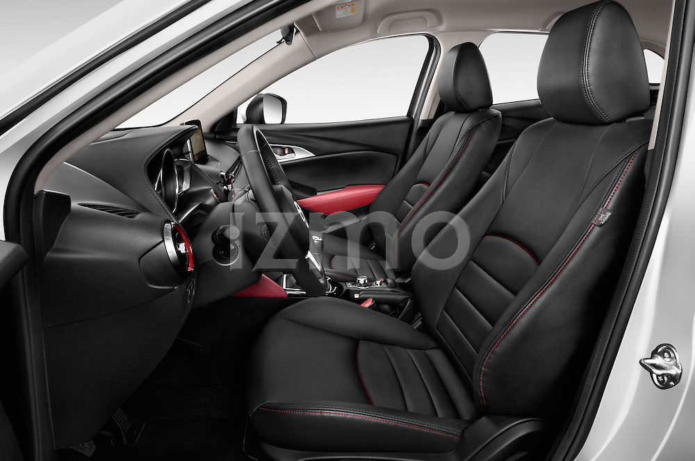 Front seat view of 2015 Mazda CX-5 Skycruise 5 Door Suv Front Seat  car photos