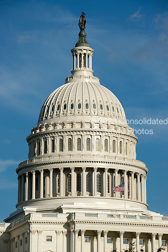 West Front and Dome of the United States Capitol Building on September 20, 2012..Credit: Ron Sachs / CNP