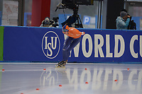 SPEEDSKATING: 09-12-2018, Tomaszów Mazowiecki (POL), ISU World Cup Arena Lodowa, 10.000m Men Division B, Simon Schouten (NED), ©photo Martin de Jong