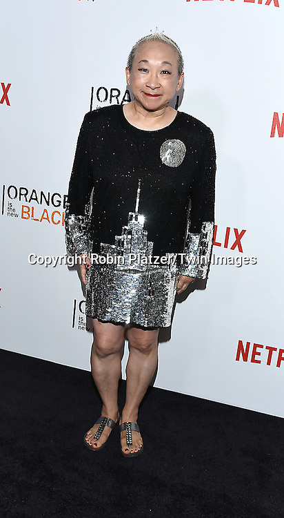 Lori Tan Chinn attends NexFlix's &quot;Orange is the New Black&quot; 4th Season New York Premiereon June 16, 2016 at the SVA Theatre in New York City, NY, USA.<br /> <br /> photo by Robin Platzer/Twin Images<br />  <br /> phone number 212-935-0770