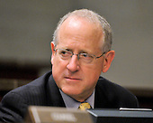 United States Representative Mike Conaway (Republican of Texas) listens during the U.S. House Committee on Standards of Official Conduct Adjudicatory Subcommittee organizational meeting to discuss the charges against U.S. Representative Charlie Rangel (Democrat of New York) in the Capitol in Washington, D.C. on Thursday, July 29, 2010..Credit: Ron Sachs / CNP..(RESTRICTION: NO New York or New Jersey Newspapers or newspapers within a 75 mile radius of New York City)