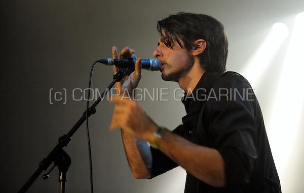 "Mauro Pawlowski performing with his band ""Pawlowski"" at the De Nachten festival in Antwerp (Belgium, 07/11/2008)"