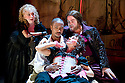 The City Madam by Philip Massinger. A Royal Shakespeare Company Production directed by Dominic Hill. With  Liz Crowther as Secret,Nathaniel Martello-White as Goldwire, Christopher Chilton as Ding'em,Pippa Nixon as Shave'em. Opens at The SwanTheatre  ,Stratford Upon Avon on 10/5/11  CREDIT Geraint Lewis