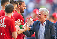 Trainer Cheftrainer Jupp HEYNCKES (FCB) celebration, <br />