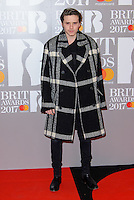 www.acepixs.com<br /> <br /> February 22 2017, London<br /> <br /> Brooklyn Beckham arriving at The BRIT Awards 2017 at The O2 Arena on February 22, 2017 in London, England.<br /> <br /> By Line: Famous/ACE Pictures<br /> <br /> <br /> ACE Pictures Inc<br /> Tel: 6467670430<br /> Email: info@acepixs.com<br /> www.acepixs.com