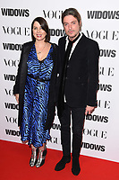 "LONDON, UK. October 31, 2018: Sadie Frost & Darren Strowger at the ""Widows"" special screening in association with Vogue at the Tate Modern, London.<br /> Picture: Steve Vas/Featureflash"