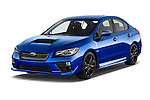 2017 Subaru WRX 2 4 Door Sedan Angular Front stock photos of front three quarter view