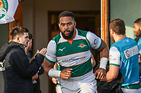 Andrew DURUTALO of Ealing Trailfinders during the Greene King IPA Championship match between Ealing Trailfinders and Jersey Reds at Castle Bar , West Ealing , England  on 22 December 2018. Photo by David Horn.