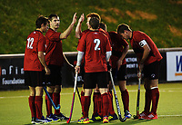 Action from the 2017 National Senior Men's Hockey Tournament final between Waikato and Canterbury at National Hockey Stadium in Wellington, New Zealand on Saturday, 23 October 2017. Photo: Dave Lintott / lintottphoto.co.nz