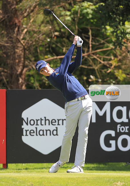 Gary Hurley (IRL) during Thursday's Round 1 ahead of the 2016 Dubai Duty Free Irish Open Hosted by The Rory Foundation which is played at the K Club Golf Resort, Straffan, Co. Kildare, Ireland. 19/05/2016. Picture Golffile | TJ Caffrey.<br />