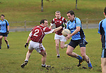 Westport's Danny O'Toole aims for goal during the Div 1 E Junior league game against Balla...Pic Conor McKeown