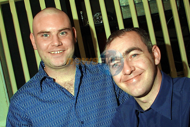 Lloyd Wilson and Anthony Rooney pictured in the Star and Cresent..Pic: Newsfile