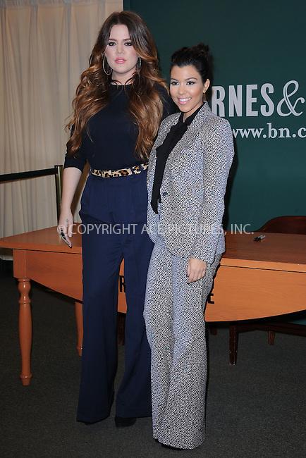 "WWW.ACEPIXS.COM . . . . . .November 16, 2011...New York City....Khloe Kardashian and Kourtney Kardashian sign copies of ""Dollhouse"" at Barnes & Noble, 5th Avenue on November 16, 2011 in New York City....Please byline: KRISTIN CALLAHAN - ACEPIXS.COM.. . . . . . ..Ace Pictures, Inc: ..tel: (212) 243 8787 or (646) 769 0430..e-mail: info@acepixs.com..web: http://www.acepixs.com ."