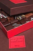 Europe/France/Bretagne/29/Finistère/Brest:Chocolats de Jean-Yves Kermarrec: Histoire de Chocolat