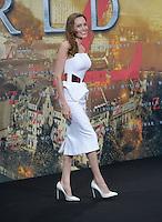 Berlin, Dienstag (04.06.13), Die Schauspielerin Angelina Jolie bei der Deutschlandpremiere des Films World War Z.<br /> Foto: Michael Gottschalk/CommonLens