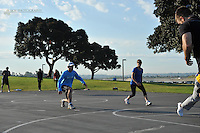 Todd Durkin and Fitness Quest 10 hold their weekly Saturday Bootcamp at the Hilton Mission Bay.