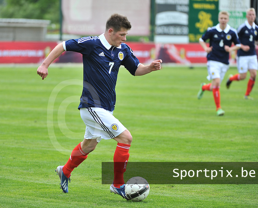 Scotland U19 - Georgia U19 : Matthew Kennedy.foto DAVID CATRY / Nikonpro.be
