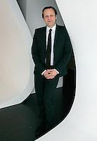 Daniel Birnbaum, Direttore del Settore Arti Visive della 53esima Esposizione Internazionale d'Arte Biennale di Venezia 2009, ritratto a Roma, 23 marzo 2009. .Visual Arts section of Venice's 53rd Biennial Art 2009 Exhibition director Daniel Birnbaum portrayed in Rome, 23 march 2009..UPDATE IMAGES PRESS/Riccardo De Luca