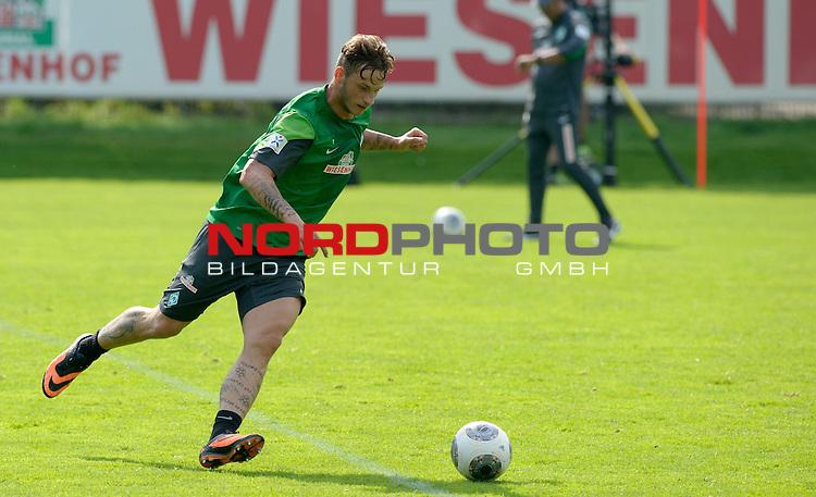 21.08.2013, Trainingsgelaende, Bremen, GER, 1.FBL, Training Werder Bremen, im Bild Marko Arnautovic (Bremen #7)<br /> <br /> Foto &copy; nph / Frisch