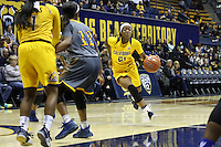 BERKELEY, CA - November 19, 2016: Cal Bears Women's Basketball team vs. the Cal State Bakersfield Roadrunners at Haas Pavilion. Final score, Cal Bears 86, Cal State Bakersfield Roadrunners 63.