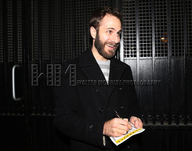 Matt Harrington attends the Broadway Opening Night Performance of 'Richard III' at the Belasco Theatre on November 10, 2013 in New York City.