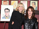 Judith Light & Stockard Channing .attending the celebration for Jon Robin Baitz receiving a Caricature on Sardi's Hall of Fame in New York City on 5/31/2012
