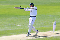 Kyle Abbott hits six runs for Hampshire during Essex CCC vs Hampshire CCC, Specsavers County Championship Division 1 Cricket at The Cloudfm County Ground on 21st May 2017