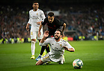 Real Madrid's  Daniel Carvajal and Sevilla's  Sergio Reguilon during La Liga match. January 18,2020. <br /> (ALTERPHOTOS/David Jar)