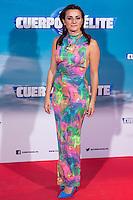 "Ana del Rey during the premiere of ""Cuerpo de Elite"" at Capitol cinema. Madrid. August 25, 2016. (ALTERPHOTOS/Rodrigo Jimenez) /NORTEPHOTO"