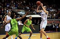 GRONINGEN - Basketbal, Donar - Dinamo Sassari, Martiniplaza, Europe Cup, seizoen 2018-2019, 12-12-2018,  Donar speler Grant Sitton