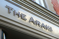 The Araki, London, UK, December 16, 2014. Following the success of his Three-Michelin-Star restaurant in Tokyo's Ginza, in 2014 Araki relocated to London.