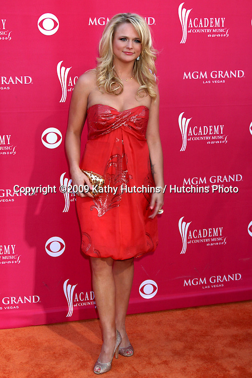 Miranda Lambert  arriving at the 44th Academy of Country Music Awards at the MGM Grand Arena in  Las Vegas, NV on April 5, 2009.©2009 Kathy Hutchins / Hutchins Photo....                .