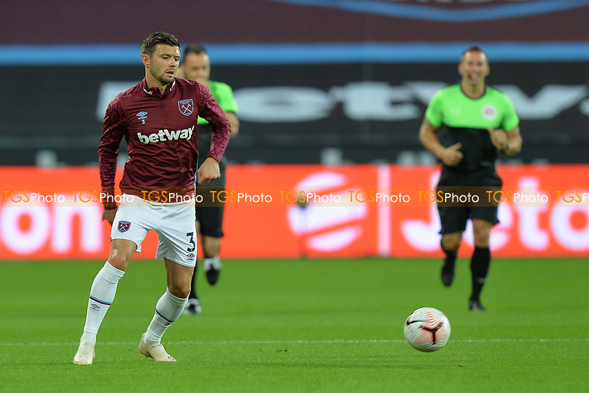 Aaron Cresswell during West Ham United vs Newcastle United, Premier League Football at The London Stadium on 12th September 2020