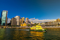 Ferry boats, Circular Quay, Sydney Harbor, Sydney, New South Wales, Australia