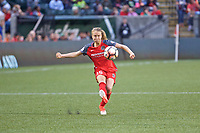 Portland, OR - Saturday June 17, 2017: Emily Sonnett during a regular season National Women's Soccer League (NWSL) match between the Portland Thorns FC and Sky Blue FC at Providence Park.