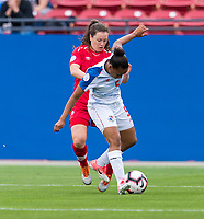 Frisco, TX - October 14, 2018:  Canada defeated Panama 7-0 during the semifinals of the 2018 CONCACAF Women's Championship.