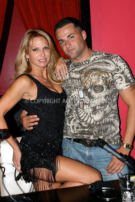 WWW.ACEPIXS.COM . . . . .  ....August 18 2010, New York City....Jeff Miranda (Jersey Shore Snookie's boyfrind) and Savannah Samson attend a taping of 'Steppin' Out of the Tabloids with Chaunce Hayden' at Sapphire New York on August 18, 2010 in New York City.....Please byline: NANCY RIVERA- ACEPIXS.COM.... *** ***..Ace Pictures, Inc:  ..Tel: 646 769 0430..e-mail: info@acepixs.com..web: http://www.acepixs.com