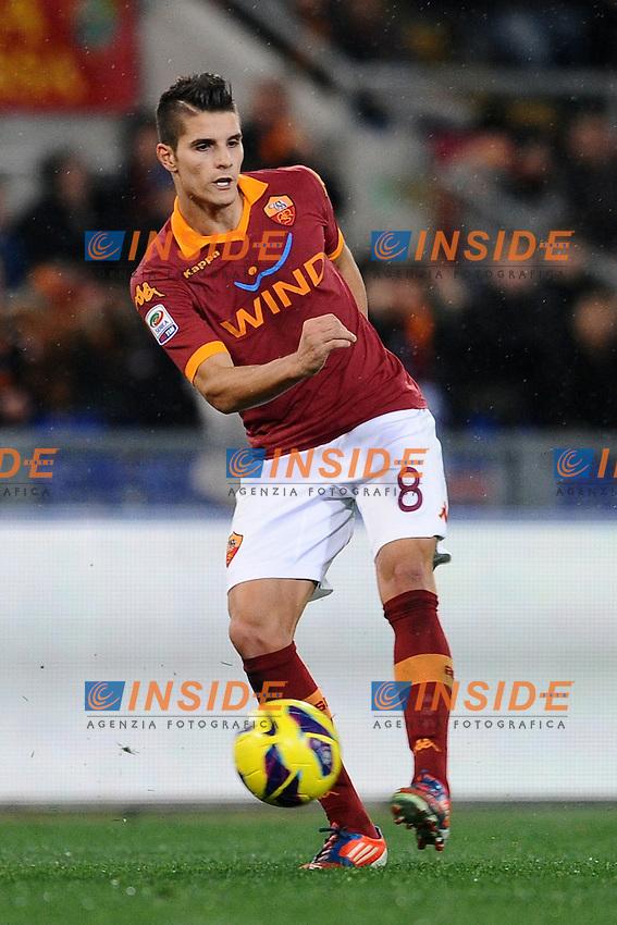 Erik Lamela (Roma).20/01/2013 Roma.Stadio Olimpico.Football Calcio 2012 / 2013 .Campionato di Calcio Serie A.Roma vs Inter 1-1.Foto Insidefoto / Antonietta Baldassarre.