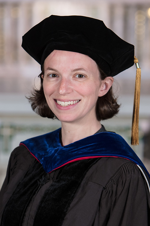 DePaul College of Science and Health faculty Bridget Tenner was promoted during DePaul's annual Academic Convocation at the St. Vincent de Paul Parish Church Thursday, Aug. 31, 2017. (DePaul University/Jeff Carrion)