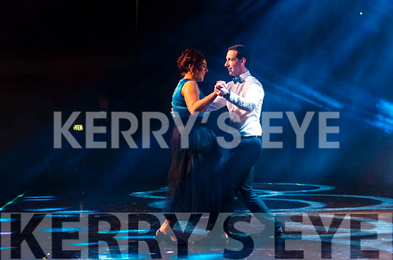 Rathmore Strictly Come Dance contestants Katie Murphy and Michael Kelleher individual dance.