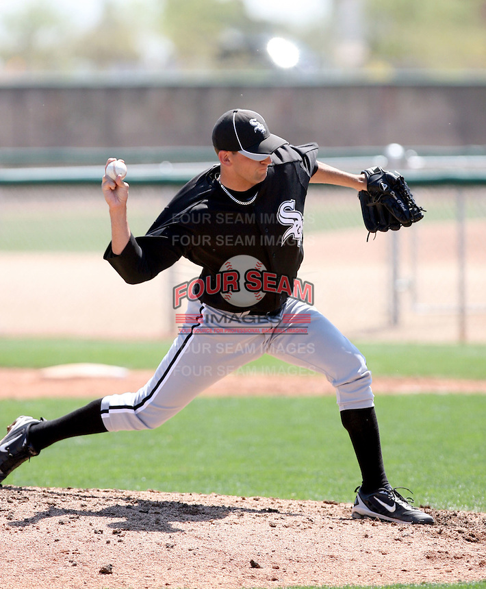 Drew O'Neil, Chicago White Sox 2010 minor league spring training..Photo by:  Bill Mitchell/Four Seam Images.