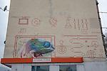 Iguana Mural