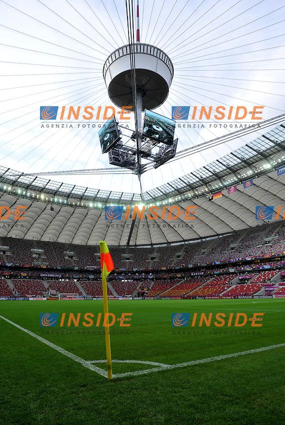 "STADIO.Varsavia 28/06/2012  ""Stadion Narodowy"".Football calcio Europeo 2012 Germania Vs Italia.Football Calcio Euro 2012.Foto Insidefoto Alessandro Sabattini..."