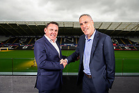 2018 09 10 Trade Centre Wales sponsors Swansea City FC, Liberty Stadium, Wales, UK